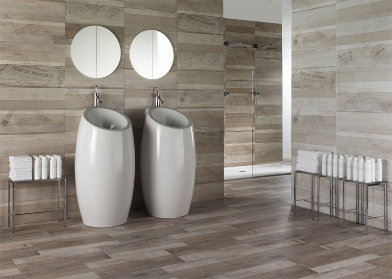 Legno Vintage Is Available For Coatings With 20×60 Size And In Three  Different Color Tones: Grey, Beige And White, Combined With Their  Decorations.